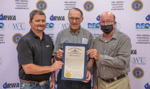 Rural Water and Sewer District #4 Lincoln County Honored